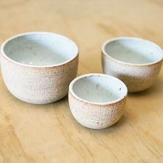 Ceramic Nesting Bowls by Julie Cloutier back in stock!- General Store