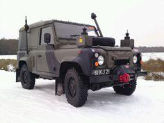 Defender 90 FFR winterised  Waterproofed