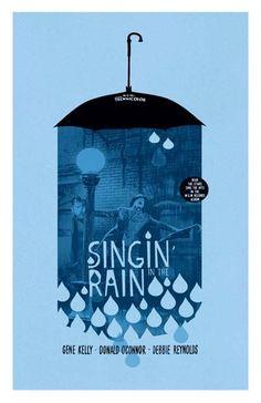 Singin' In The Rain 11x17 inch poster.