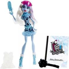 Monster High Aula De Arte Abbey Bominable Mattel - R$ 129,99