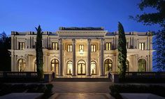 Beverly Hills mansion, with 36 thous sq. ft., selling for only $49,000,000. Love the old-school European style. The climate must be awesome, too.