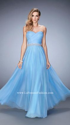 Shop La Femme evening gowns and prom dresses at Simply Dresses. Designer prom gowns, celebrity dresses, graduation and homecoming party dresses. Prom Dresses 2016, Bridal Dresses, Evening Dresses, Short Semi Formal Dresses, Strapless Dress Formal, Gigi Dress, Tiffany Dresses, Dresser, Sexy Cocktail Dress
