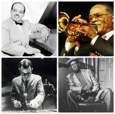 Thank You For The Music And The Memories. Noro Morales,Clark Terry,Cal Tjader y Francisco Aguabella.