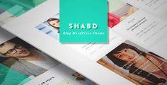 SHABD - Personal, News, Blog, Wordpress Theme | DOWNLOAD & REVIEW