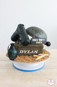 Call of Duty Cake by The Dainty Baker