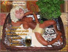 narozeniny Caramel Apples, Sausage, Wraps, Homemade, Birthday, Desserts, Food, Tailgate Desserts, Meal
