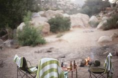 westerus:  campfire, kern river by desert fete on Flickr.