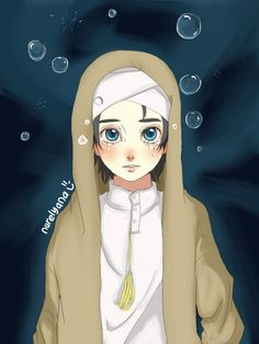 Bubbles by on DeviantArt Hijab Cartoon, Cartoon Boy, Cartoon Images, Forest Wallpaper Iphone, Boys Wallpaper, Hijab Drawing, Islamic Cartoon, Cute Muslim Couples, Islamic Posters