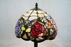Amazing Rose Tiffany Bedside Lamp Joanne Tiffany Finest Lamp Collection RRP$180 | eBay