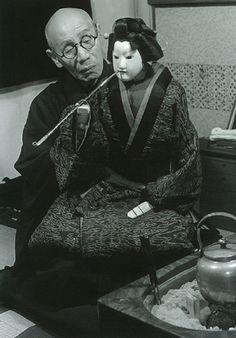 土門拳 楽屋の三代 吉田文五郎(後に難波掾)