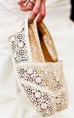 lace toms! :)