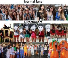 This is why I love being apart if this fandom where not just some regular teenage girls obsessing over a band were Directioners <3 :)