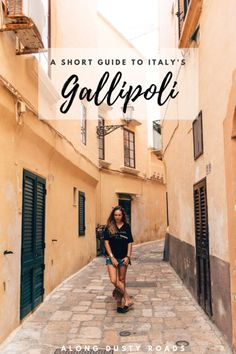 This short guide to Gallipoli in Italy contains all the best things to do, where to stay and how to get there. Click pin for more info - and some beautiful photography!