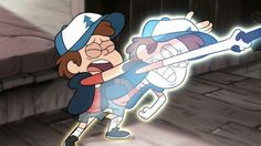 Bill tricks Dipper by taking his Soul (soul eater reference to me sorta)