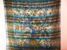 Wall Decor – TREE OF LIFE BIRDS BEDSPREAD WALL HANGING DORM DEC – a unique product by INDIANTRADITIONAL on DaWanda