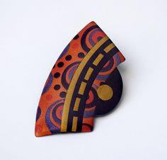 Papago Designs - Geometric Brooch