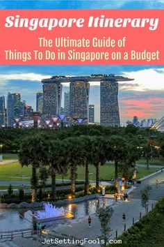 A Singapore Itinerary: The Ultimate Guide of Things To Do in Singapore on a Budget Singapore is a city to be experienced – and we've created a Singapore itinerary that highlights the best places to visit in Singapore in 3 days. Singapore Travel Tips, Singapore Itinerary, Malaysia Travel, Asia Travel, Solo Travel, Best Places In Singapore, Singapore Trip, Singapore Singapore, Best Places To Travel