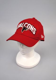 93075db4021 Atlanta Falcons NEW ERA 39Thirty Hat Team Classic Team Cap Football NFL