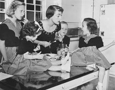 Joan Crawford has four adopted children Christina twins Cathy and Cindy and…