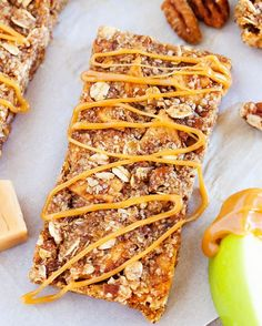 New Snack Bars Full of crunchy pecans chewy apples and a caramel ribbon these Caramel Apple Pie Snack Bars are the next best thing to an apple pie without the fuss of the crust. For the recipe click @thepkpway or http://ift.tt/2dP02vv #thepkpway #foodblog #foodporn #foodstyling #buzzfeast #huffposttaste #eeeeeats #feedfeed #f52grams #thekitchn #foodie #foodpic #instafeast #yahoofood #inthekitchen #commontable #lifeandthyme #onmytable #tastemade #forkyeah #vscofood #vscocook…