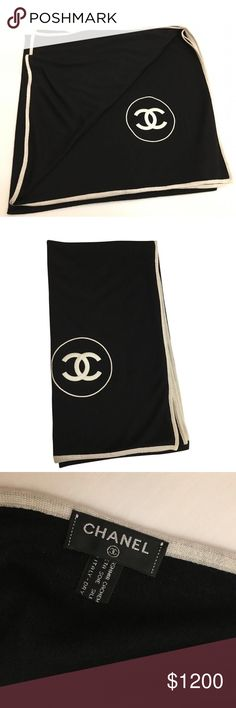 Chanel oversized stole cashmere Brand new. Made in Italy. $1990 retail. Oversized stole that can be a wrap. Cashmere, silk. Simply beautiful. CHANEL Accessories Scarves & Wraps