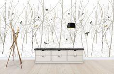 Pattern Jay - Mural de pared y papel tapiz fotográfico - Photowall