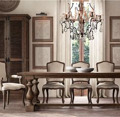 Vintage French Round | Restoration Hardware Dining Room Chairs But With  Different Finish | Dining Room | Pinterest | Restoration Hardware,  Restoration And ...
