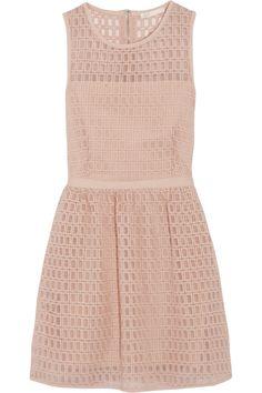 Maje|Elixir broderie anglaise organza mini dress|NET-A-PORTER.COM