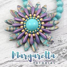 179e3c9eb63fec Margaretta – wisior z koralikami Dagger – tutorial | Royal-Stone blog Seed  Bead Crafts