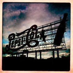 Pepsi Cola sign in Long Island City by Henry Sene Yee