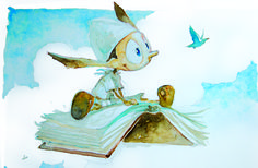 Massimiliano #Frezzato #illustration from #Pinocchio