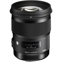 Sigma 50mm f/1.4 DG HSM Art Lens for Nikon F 311306 B&H Photo