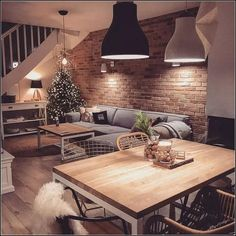 How cozy is this interior decor?😍 Tag one of your Friends👇🏻💛 🏠Fol… - Wohnzimmer ideen - How cozy is this interior decor?😍 Tag one of your Friends👇🏻💛 🏠Fol… – Wohnzimmer ideen Interior Design Living Room Warm, Decor Interior Design, Living Room Designs, Design Interiors, Interior Decorating, Home Living Room, Living Room Decor Cozy, Living Room Goals, Modern And Rustic Living Room