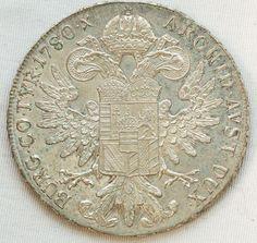 Numismática AUSTRIA 1780 TRALLER - MOEDA DE PRATA SO..