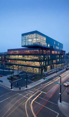 Halifax Central Library, schmidt hammer lassen architects, world architecture news, architecture jobs
