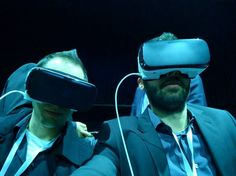 An awesome Virtual Reality pic! Unsere #Delegation am Mobile World Congress in #Barcelona: Dario und Domenico. Alle News zum Event im Link in der Bio. #mwc #mwc16 #samsung #vr #virtualreality #congress #digitec #selfie by digitec_de check us out: http://bit.ly/1KyLetq