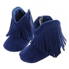 Forestime Baby Autumn Martin Boots Fashion Suede Leather Moccasins/Lace-up Boots Soft Flat Ankle Fluff Bootie Shoes