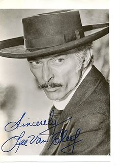Lee Van Cleef He died of a heart attack in December and was buried at Forest Lawn in the Hollywood Hills. Lee Van Cleef, Hollywood Actor, Hollywood Stars, Classic Hollywood, Old Hollywood, Hollywood Hills, Western Film, Western Movies, Old Movies