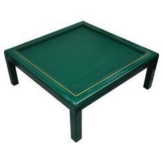 Check out this item at One Kings Lane! Lacquered Rattan Coffee Table