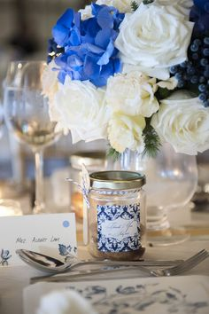 The colour palette in Michael and Emily's wedding reminds us of Chinese blue and white porcelain. We love the elegance of the two colours together and the feeling of delightful delicacy it brings to their celebration. Another beautiful Singapore wedding, proudly brought to you by The Wedding Scoop! The colour palette in Michael and Emily's we...