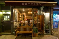 Gottino, West Village.  Wrote half of my book at this spot soley powered by invincible iced lattes created by Miss Ruth.