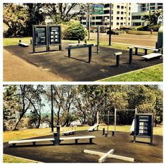 Outdoor gym in Queensland Australia #gym #workout #exercise #health