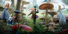 Alice In Wonderland 2 Gets A 2016 Release Date, Johnny Depp And Mia Waskiowka To Return image