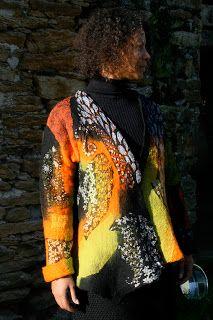 Feutre Art Textile: Entretien N° 3 : Françoise Christien