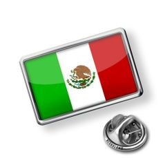 "Pin ""Mexican Flag"" - Lapel Badge - NEONBLOND NEONBLOND pins. $9.99"
