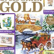 Cross Stitch Books, Cross Stitch Patterns, Oriental, Stitch Magazine, Comic Books, Comics, Sewing, Gold, Flowers