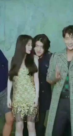Moon Lovers Cast, Moon Lovers Drama, Baekhyun Moon Lovers, Scarlet Heart Ryeo Cast, Hwarang Taehyung, Smrookies Girl, Goblin Kdrama, Exo Music, Drama Gif