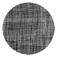 Checked Pot Mat in Black by Fine Little Day at Starship for Littles