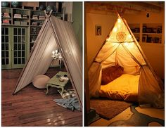 i need a teepee in my house. now.