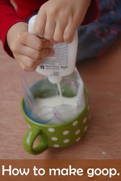 Goop Recipe: Make Your Own Silly Putty - Kids Activities Blog